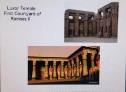 Luxor Temple Courtyard of Ramses II